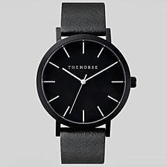 Męskie Zegarek na nadgarstek Kwarcowy Skóra Pasmo Czarny / Brązowy Marka-