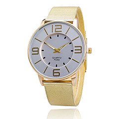 Xu™ Women's Golden Mesh Belt Quartz Watch Cool Watches Unique Watches