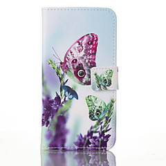 til Samsung Galaxy s8 plus butterfly læder tegnebogen for Samsung Galaxy S3 S4 S5 S6 S7 s5mini s6 kant S7 plus s7 kant