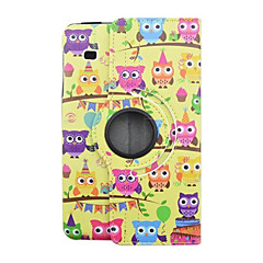 Animal Cartoon PU Leather Flip Cover Case For Samsung Galaxy Tab E 8.0 T377 Tablet Protective Shell 8 inch