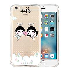 zoete minnaar zachte transparante siliconen achterkant van de behuizing voor de iPhone 6 / 6s (diverse kleuren)