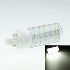 6W G24 LED-lamper med G-sokkel Roterbar 30 SMD 5050 550-600 lm Varm hvid Kold hvid Dekorativ Vekselstrøm 85-265 V 1 stk.
