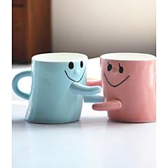2kpl ystävänpäivä lahja miesten ja naisten ystävät syntymäpäivä lahja ystäville hymyilevät kasvot halaus kupin pari kuppia