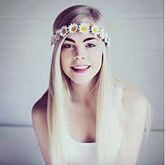 Bruiloft / Feest / Dagelijks / Causaal-Haarbanden(Stof,Roos / Lichtroze / Wit / Geel / Rood / Blauw / Paars / Roze)