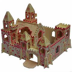 공주 빌라 나무 3D 퍼즐 DIY 장난감