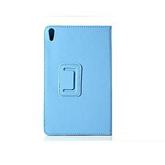 pu caso de la cubierta de cuero de la cubierta del caso de la tableta Lenovo s8-50 con protector de pantalla