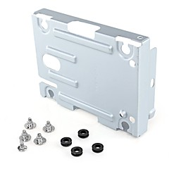 "Hard Disk Drive  Mounting Bracket Stand Kit Replacement 2.5"" for Sony PS3  Super Slim Console  with Screws"