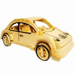 딱정벌레 차 나무 3D 퍼즐 DIY 장난감