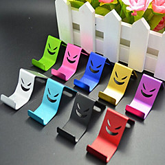 Smile Metal Cell Phone Holder Random Color