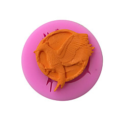 Phoenix Badge Style Sugar Candy Fondant Cake Molds  For The Kitchen Baking Molds