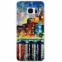 Na Samsung Galaxy S7 Edge Wzór Kılıf Etui na tył Kılıf Widok miasta TPU Samsung S7 edge / S7 / S6 / S5
