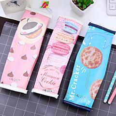 PU Bőr-Cuki / Üzlet / Több funkciós-Kék / Rózsaszín-Levélpapír táskák-