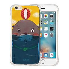 trekken wordwide aandacht zachte transparante siliconen achterkant van de behuizing voor de iPhone 5 / 5s (diverse kleuren)