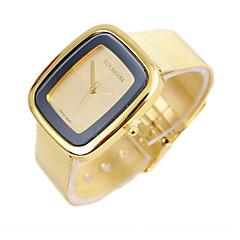 Женские Модные часы Кварцевый сплав Группа Серебристый металл Золотистый