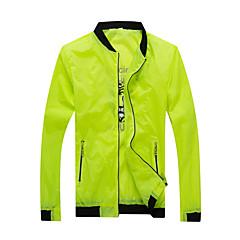 하이킹 탑스 남녀 공용 통기성 / 자외선 방지 여름 / 가을 화이트 / 그린 / 블루 M / L / XL / XXL / XXXL 캠핑 & 하이킹 / 피싱 / 운동&피트니스 / 레저 스포츠 / 사이클링/자전거 / 다운힐 / 달리기-스포츠