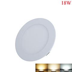 18W Oświetlenie panelowe 90pcs SMD 2835 1650-1700lm lm Ciepła biel / Zimna biel / Naturalna biel Dekoracyjna DC 24 V 1 sztuka