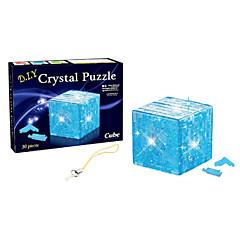 3 일의 루빅스 큐브 크리스탈 블록 DIY 창조적 인 교육 장난감 어린이 장난감 퍼즐