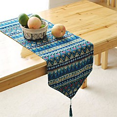 modelo geométrico corredor de la tabla del hotsale de alto grado de mesa sábanas de algodón superior deco