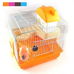 nuove vendite calde di alta qualità in plastica Multi - castello colorato animale aumentando villa criceto gabbia del criceto per