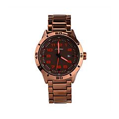 SINOBI® Brand Watches Men's Business Quartz Watch Calendar Rose Gold Band Digits Nails Gents Dresses Reloj Wrist Watch Cool Watch Unique Watch
