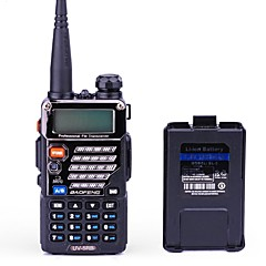 Χειρός ΨηφιακόFM Ραδιόφωνο Φορητός πομποδέκτης Δυο ζώνες συχνοτήτων Απεικόνιση δυο ζωνών Αναμονή των δυο ζωνών συχνοτήτων Οθόνη LCD