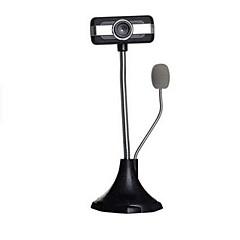 hd netwerkcamera webcam nacht versie w / microfoon voor desktop laptop computer