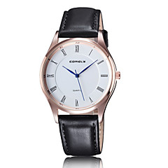 2016 Couple's Water Resistant Fashion Watches Alloy Dial Quartz Leather Luxury Dress Watch  (Assorted Color) Cool Watches Unique Watches