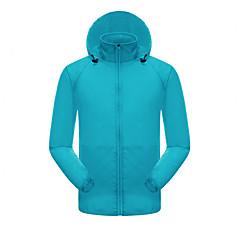 하이킹 탑스 남녀 공용 통기성 / 자외선 방지 여름 / 가을 화이트 S / M / L / XL / XXL / XXXL 캠핑 & 하이킹 / 피싱 / 운동&피트니스 / 사이클링/자전거-스포츠