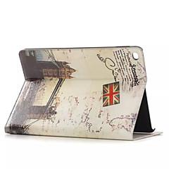 steder af historisk interesse læderetui med kortholdere til Apple iPad luft, smart cover læderetui