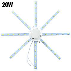 20W Mennyezeti izzók 40 SMD 5730 1600-1920 lm Hideg fehér Dekoratív AC 220-240 V 1 db.