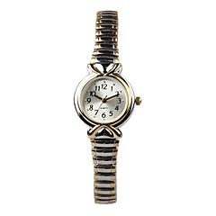 Mujer Reloj de Moda Cuarzo Acero Inoxidable Banda Plata Plata