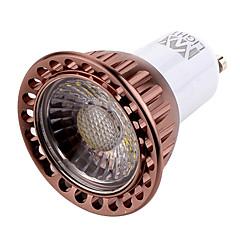 ywxlight® 7W GU10 llevó el proyector MR16 1 mazorca de 600 tibia lm / ac blanco fresco 220-240 / 110-130 1pcs
