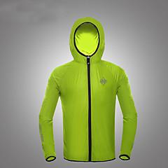 하이킹 탑스 남녀 공용 통기성 / 자외선 방지 여름 / 가을 화이트 S / M / L / XL / XXL / XXXL 캠핑 & 하이킹 / 피싱 / 운동&피트니스 / 사이클링/자전거 / 달리기-스포츠