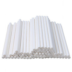 100 Pcs Package Food Grade Sucker Sticks Cake Paper Lolly Lollipop Candy Chocolate DIY Modelling Mould Mold 15CM