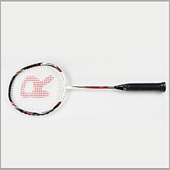 Regail Men / Women / Kids Badminton Rackets Nondeformable / Durable 67*22cm Red 1 Piece Aluminium Alloy