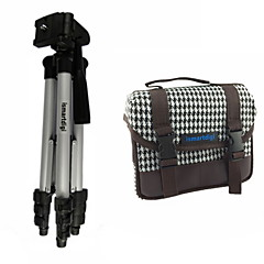 ismartdigi I101 weiß Kameratasche + IR120 3 Sektionen Stativ für alle dslr und mini dslr dv nikon Kanon Sony Olymp