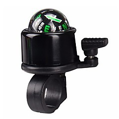 Multi Colors Aluminum Alloy Bicycle Bell With Compass Bike Alarm Horn Mountain Bike Accessories