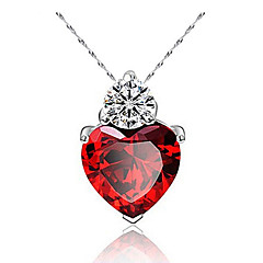 Necklace/endant Necklaces ,Jewelry,Resin / Silver Plated Necklace Pendant Necklaces Daily / Casual 1pc Hualuo®