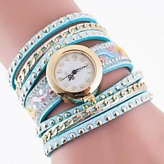 Women's Fashion Watch Quartz Casual Watch Fabric Band Multi-Colored