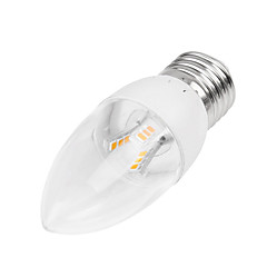 5W E14 B22 E26/E27 LED-stearinlyspærer Nedfaldende retropasform 18LED SMD 2835 350-400 lm Varm hvid Kold hvid Justérbar lysstyrke