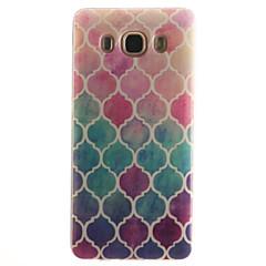 For Samsung Galaxy etui IMD Etui Bagcover Etui Geometrisk mønster Blødt TPU forTrend 3 J7 (2016) J5 (2016) J5 J1 (2016) J1 Ace J1 Grand