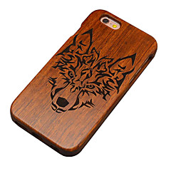Na Etui iPhone 5 Etui Pokrowce Wzór Etui na tył Kılıf Tekstura drewna Twarde Drewno na Apple iPhone SE/5s iPhone 5