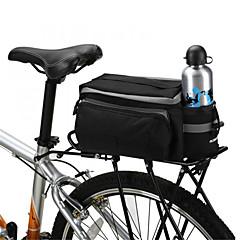 ROSWHEEL Bike Bag 13LPanniers & Rack Trunk Shoulder Bag Bike Trunk Bags Waterproof Shockproof Wearable Bicycle Bag PVC 600D Polyester