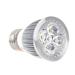 5W E26/E27 LED-växtlampa MR16 5 Högeffekts-LED 120lm LM Röd Blå Dekorativ AC 85-265 V 1 st
