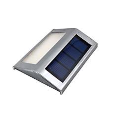2pcs/lot Waterproof LED Solar Light Lamps 2Leds Garden Lights Outdoor Landscape Lawn Lamp Solar Wall Lamps