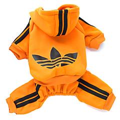 Katzen / Hunde Kapuzenshirts Rot / Schwarz / Rosa / Orange Winter / Frühling/Herbst Sport Modisch, Dog Clothes / Dog Clothing-Lovoyager