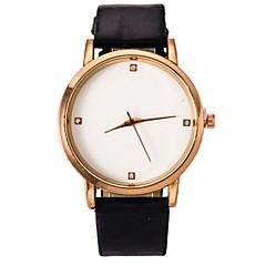 Mulheres Relógio de Moda Quartz Relógio Casual PU Banda Preta / Branco / Azul / Vermelho / Marrom / Amarelo marca-