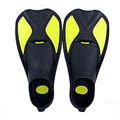 Diving Fins Protective Short Blade Diving / Snorkeling Swimming silicone
