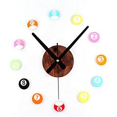 Stereo DIY Fun Billiard Wall Clock