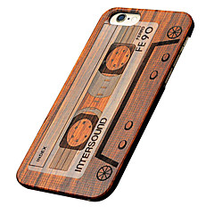 For iPhone 5 Case Embossed Case Back Cover Case Wood Grain Hard Wooden for iPhone SE/5s/5